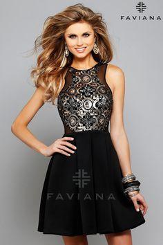 Nueva galería de vestidos de cóctel | Colección Faviana 2016