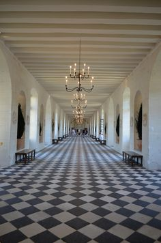 Château de Chenonceau, Loire, France by Hiroshi Nakanishi Photo Chateau, Loire Valley France, French Castles, Beautiful Castles, French Chateau, Beautiful Places In The World, Elegant Homes, Beautiful Architecture, Black And White