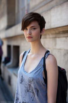 long pixie haircut tumblr - Google Search