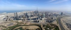 Burj Khalifa, the world's tallest tower, is seen in a general view of Dubai, UAE December 9, 2015. Picture taken December 9, 2015. REUTERS/Karim Sahib/Pool - RTX1Y3QY