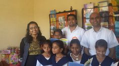 Thinksharp Foundation team is learning few poems from this enthusiastic Chikatgaon StudyMall students.