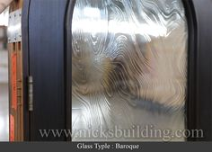 most of our doors have a baroque glass option. Entrance Doors, Garage Doors, Doors Online, Wooden Doors, Baroque, Interior And Exterior, Type, Glass, Entry Doors