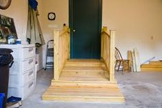Image result for walker/handicap stairs