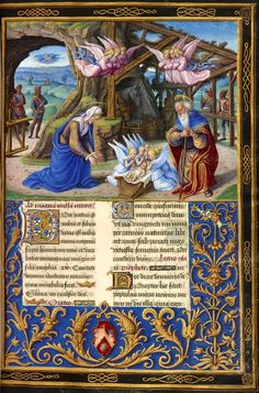 Nativity | Missal | France, Tours | ca. 1500 | The Morgan Library & Museum