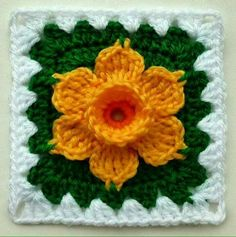 Crochet Flower Patterns You'll Love On Craftsy! 10 Crochet Flower Patterns You'll Love on Craftsy! Crochet Techniques different types of Crochet Flower Patterns You'll Love on Craftsy! Crochet Techniques different types of crochet Crochet Motifs, Granny Square Crochet Pattern, Crochet Squares, Knit Or Crochet, Crochet Crafts, Crochet Projects, Ravelry Crochet, Crochet Cushions, Crochet Blocks