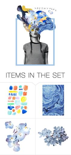 """""""løstmyhead"""" by hanpear ❤ liked on Polyvore featuring art and the1975"""