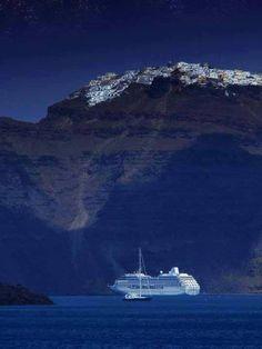 Magical Santorini island ~ Greece