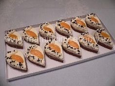 Semifreda bez formy Mini Cakes, Fondant, Cheesecake, Sushi, Muffin, Cupcakes, Cookies, Breakfast, Ethnic Recipes