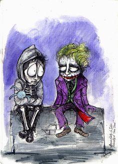Donnie Darko meet the Joker by cpn-blowfish