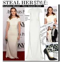 """Steal Her Style:Leighton Meester - Tony Awards 2014"" by kusja on Polyvore"