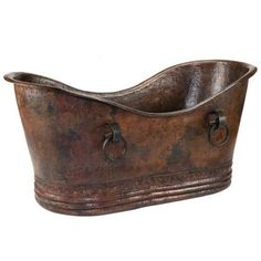 If I had an extra $5K sitting around, I would buy this Double Slipper Copper Bathtub