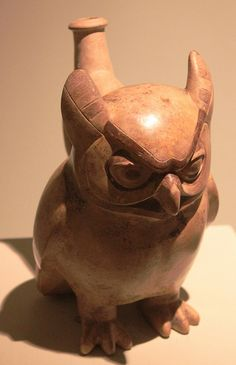 ancient peruvian pottery | Recent Photos The Commons Getty Collection Galleries World Map App ... Peruvian Art, Ancient Peruvian, Art Assignments, Duck Art, Maya, Native American Pottery, Mesoamerican, Indigenous Art, Owl Art