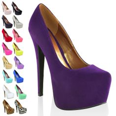 Purple Platform Heels | Tsaa Heel