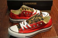 Leopard Cheetah Print Converse Chuck Taylor All Star by NYCustoms