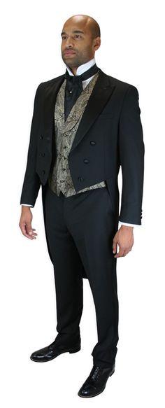 2 Piece Tailcoat Tuxedo $160