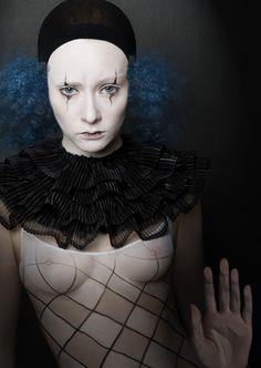 Not a Man's World - Katerina Belkina Matthieu Bourel, Art Du Cirque, Pierrot Clown, Circo Vintage, Female Clown, Dark Circus, Night Circus, Circus Room, Circus City