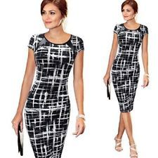 Women Bandage Bodycon Short Sleeve Evening Sexy Party Cocktail Pencil Mini Dress