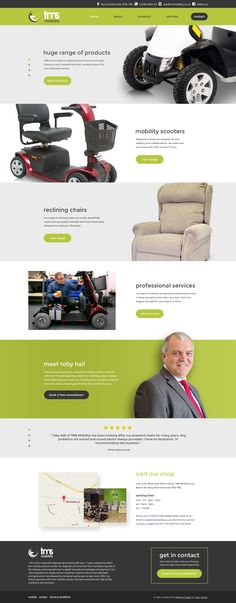 TMS Mobility are a Bury St Edmunds based mobility company with over 20 years experience. Looking for a modern and sleek website they approached us here at Logic Design and were more than happy with the result. Learn more by clicking the image.