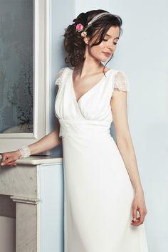 Elsa Gary - Robes de mariée | Modèle: Léna | Crédits: Elsa Gary | Donne-moi ta main - Blog mariage