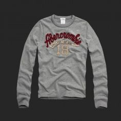 Hollister Outlet online sale Abercrombie Mens Long Tees