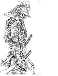 Tattoos - New Sketch 🔥 - Post - Marecipe Samurai Tattoo Sleeve, Samurai Warrior Tattoo, Sleeve Tattoos, Samurai Drawing, Samurai Artwork, Tattoo Sketches, Tattoo Drawings, Body Art Tattoos, Japanese Tattoo Art