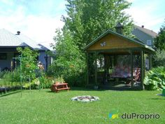 Maison à vendre Sherbrooke, 3415, rue Felton, immobilier Québec | DuProprio | 575197 Sherbrooke Quebec, Bungalow, Rue, Gazebo, Outdoor Structures, Outdoor Decor, Home Decor, Exterior Decoration, Real Estate