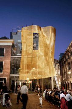 """The 'Baljurk-project"""" (baljurk = evening-dress, ball gown) Architects: Archipelontwerpers – Eric Vreedenburgh The Hague, The Netherlands"""