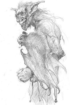 """Otro de los diseños de Alan Lee y John Howe para la adaptación de """"El Hobbit"""""""
