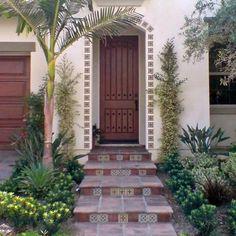 Image result for spanish tile steps