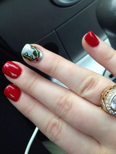 Photo of Nails by the Falls - Great Falls, VA, United States. Another amazing design by Jennie! #christmasnails