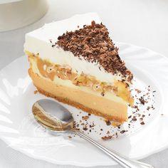 Sernik Banoffee z bananami i masą kajmakową | Świat Ciasta Mousse, Dessert Recipes, Desserts, Tiramisu, Creme, Catering, Cheesecake, Food And Drink, Baking