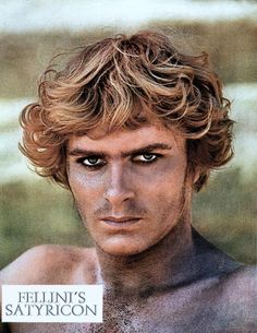 Martin Potter in Fellini-Satyricon directed by Federico Fellini, 1969 Fellini Films, Boys Keep Swinging, Brave, Top Film, Actor Studio, Ancient Rome, Film Director, Look At You, Cinematography