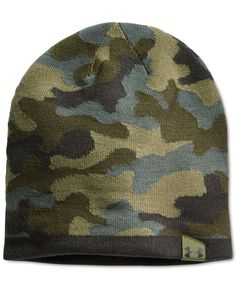Under Armour 2-Way Camo Beanie Hats For Sale caabafbbc9b7