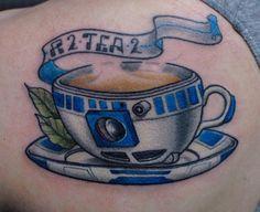 Die hard Star Wars fan. Star wars tattoo Teacup tattoo