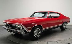 20 Classic & Badass Muscle Cars That Will Never Get Old #13: Chevrolet Chevelle SS (1968)