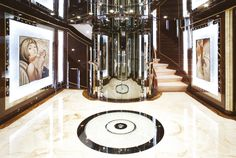 Diamonds Are Forever, Benetti Yachts Interior