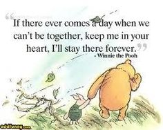 wisdom from the 100 acre wood....the way I feel.