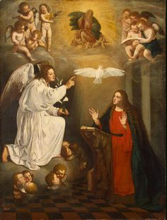 Anunciación - Pedro Núñez del Valle - s.XVII