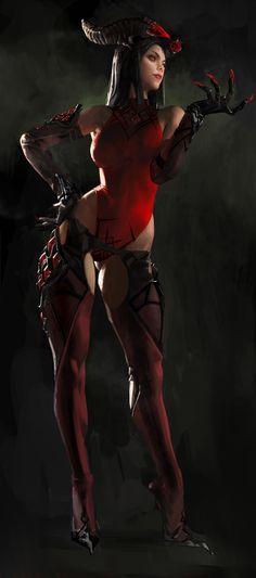 Hunting Era character concept art2, Sangsoo Jeong on ArtStation at https://www.artstation.com/artwork/XLAKY