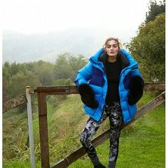 Puffer Jackets, Winter Jackets, Bright Jacket, Fox Fur Coat, Down Parka, Mittens, Duvet, Womens Fashion, Coats