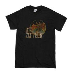 Led Zeppelin Swan Song Circle T-Shirt