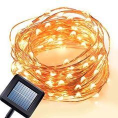 Solar Fairy Lights, Amir Starry String Lights, 7: Amazon.co.uk: Electronics