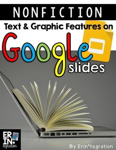 Teaching Nonfiction Text and Graphic Features with Google Slides, DogoNews, and Wonderopolis. Free presentation template and free student direction sheets at the link!