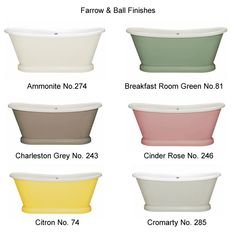 Photo of BC Designs Acrylic Freestanding Boat Bath Finishes Page 1 Farrow And Ball Paint, Farrow Ball, Traditional Bathroom, Traditional Design, Wall Mounted Bath Taps, Painting Services, Luxury Bath, Bathroom Interior, Boat