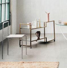 The chair MENTON featured in Rum magazine. Designer Camilla Rosén at C/RO. c-rocopenhagen.com