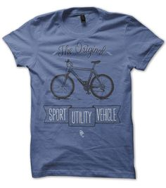 cycling tshirt from the Pedal Pushers: the original SUV. Ride your bike more, dress better. – Pedal Pushers Club