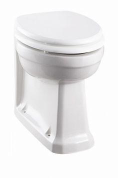 The Burlington Back To Wall Toilet Pan