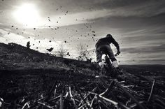 another nice mountain bike shot from pinkbike.com. Great action shot. I know that feeling of a kick-ass run