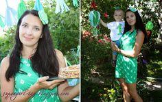 Покой мне только снится.... : Моя шляпка Биби для летней зелено-голубой вечеринки