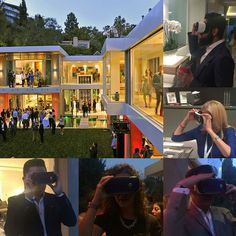An awesome Virtual Reality pic! #TBT #Inman #LuxuryConnect #ICLX closing party hosted by #TheAgencyRE with attendees experiencing a #ReallyThere3D #ReallyThereVR #VirtualReality tour on the #Oculus #Samsung #GearVR #Matterport by reallythere3d check us out: http://bit.ly/1KyLetq